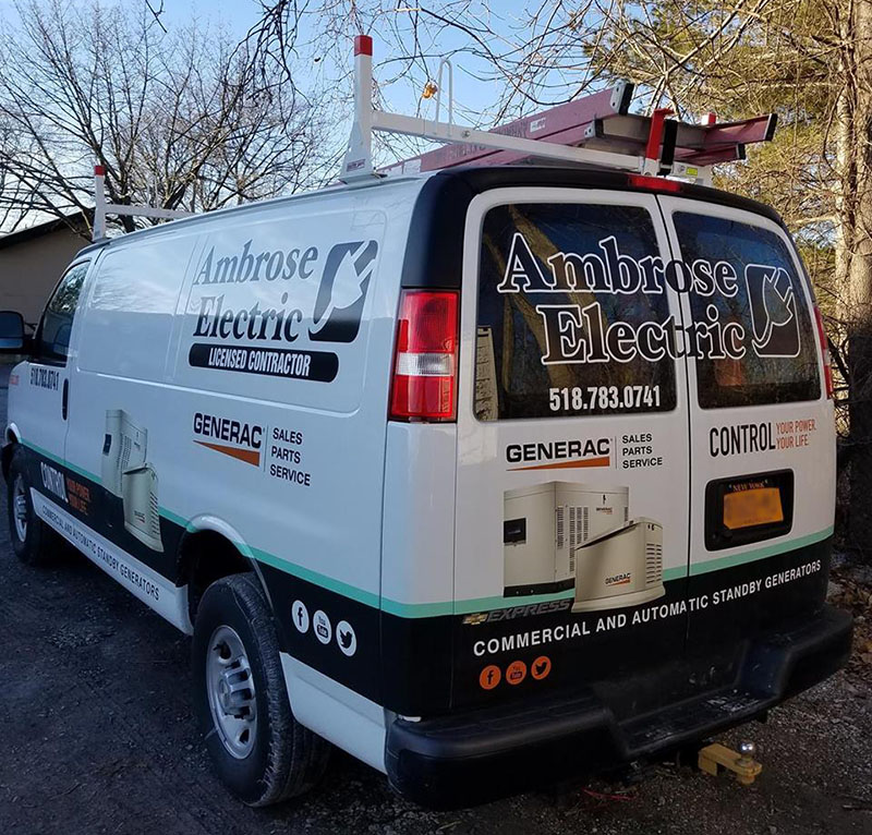Ambrose Electric Utility Van