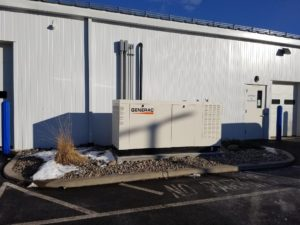 Ambrose Electric Generac Commercial Generator - Large